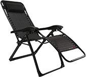 <FLAMROSE 枕一体型折り畳みリラックスリクライニングチェア>
