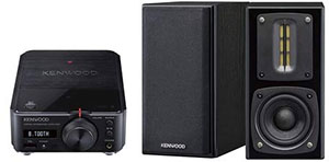 <KENWOOD コンパクトアンプ・スピーカーセット>